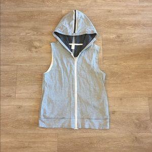 Gap Fit Workout Vest with Hood